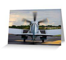 RAF Supermarine Spitfire Greeting Card