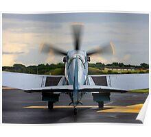 RAF Supermarine Spitfire Poster