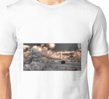 Windmill out in the wheatbelt Unisex T-Shirt
