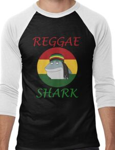 Reggae Shark Dreadlock Men's Baseball ¾ T-Shirt