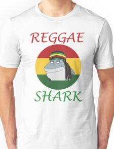 Reggae Shark Dreadlock Unisex T-Shirt
