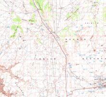 USGS TOPO Map Arizona AZ Tuba City 705278 1983 100000 Sticker
