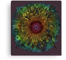 Mandala of Nieve Canvas Print