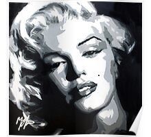 pillow with Marylin Monroe Poster