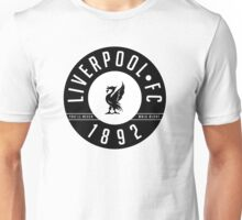 Liverpool FC - 1892 BLACK & WHITE Unisex T-Shirt