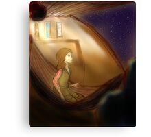 Kaylee in Space Canvas Print