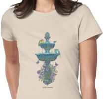 Little Fountain Womens Fitted T-Shirt