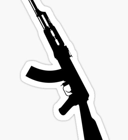 AK47 - Silhouette Sticker