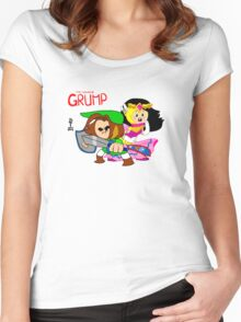Legend of Grump Women's Fitted Scoop T-Shirt