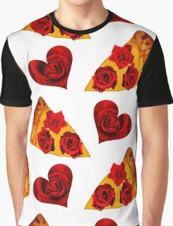 I HEART PIZZA Graphic T-Shirt