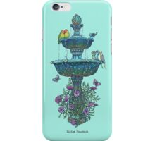 Little Fountain iPhone Case/Skin