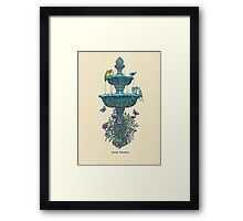 Little Fountain Framed Print