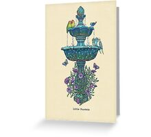 Little Fountain Greeting Card