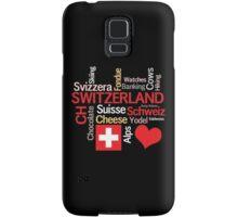 I Love Switzerland Samsung Galaxy Case/Skin
