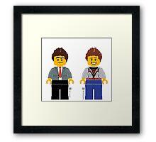 Cheep Jokes & LLWorld Framed Print