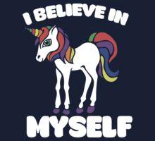 I believe in myself unicorn One Piece - Short Sleeve