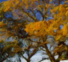 Autumn Trees Sticker