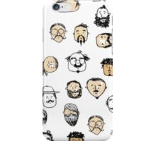 manly men iPhone Case/Skin