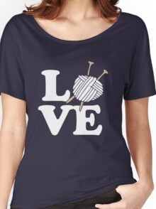 LOVE to knit Women's Relaxed Fit T-Shirt