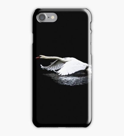 Swan Launch iPhone Case/Skin