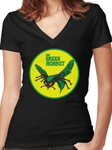 The Green Hornet 2011 American action comedy film Women's Fitted V-Neck T-Shirt