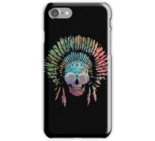 Chief Skull Watercolor iPhone Case/Skin