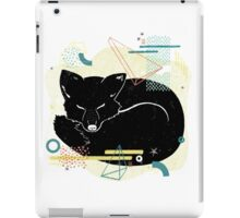 Sleeping Fox illustration iPad Case/Skin