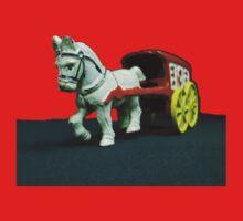 Toy Horse Drawn Ice Wagon Kids Tee
