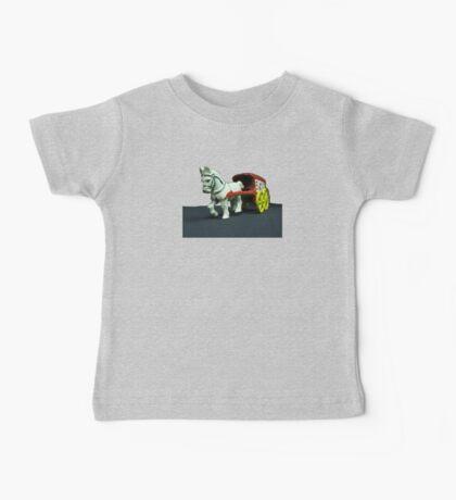 Toy Horse Drawn Ice Wagon Baby Tee