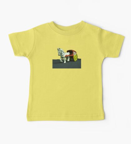 Toy Horse Drawn Ice Wagon Baby Tee