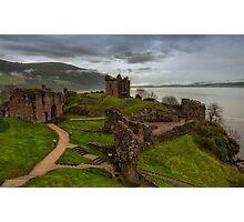Urquhart Castle on Loch Ness Photographic Print