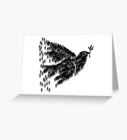 People for peace Greeting Card