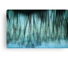 Abstract Trees Canvas Print