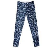 Blue Swirls Leggings