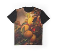 Apples in Fall - A Living Still Life Graphic T-Shirt