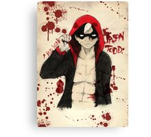 Jason Todd - Red Hood Canvas Print