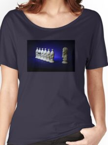 Chess Pieces - (dare to be different) Women's Relaxed Fit T-Shirt