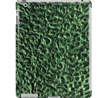 Green Swirls iPad Case/Skin