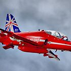 Red Arrow So Low ! - Farnborough 2014 by Colin  Williams Photography