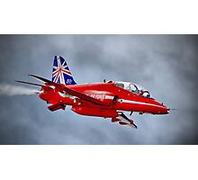 Red Arrow So Low ! - Farnborough 2014 Photographic Print