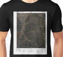 USGS TOPO Map Arizona AZ Hunters Point 20100930 TM Unisex T-Shirt