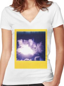 IN MEMORY Women's Fitted V-Neck T-Shirt