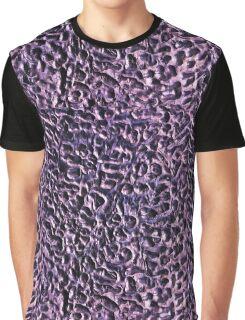 Purple Swirls Graphic T-Shirt