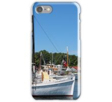 Boats at the Chesapeake Maritime Museum iPhone Case/Skin