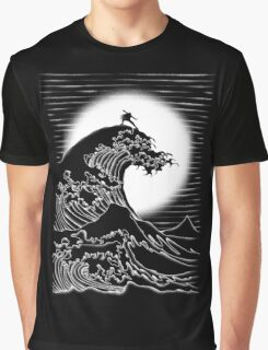 Waterbending - Black Graphic T-Shirt