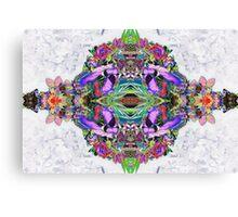 Psycho Exotic, Thai Flowers Canvas Print