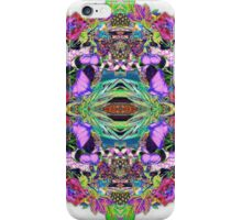 Psycho Exotic, Thai Flowers iPhone Case/Skin