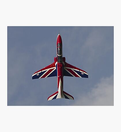 RAF Union Jack Hawk Photographic Print
