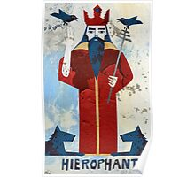 The Hierophant Poster
