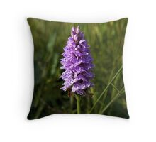 Spotted Orchid,  Donegal as iPhone case Throw Pillow